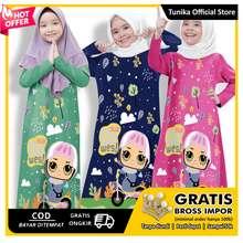Tunika Gowes Gamis Anak / Gamis Anak 7Th-9Th / Muslima Series /