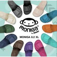 Monobo Sandal Moniga 8.2 Xl Thailand 🇹🇭 |Black,Navy,Yellow, Flum,Cream,Nude,Brown,Silvergrey