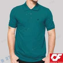 Country Fiesta Kaos Polo Shirt P2 33 Original Pendek Cowok Tosca Tua