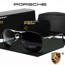 Porsche [Malaysia Seller] Men Anti Uv400 Polarized Sunglasses