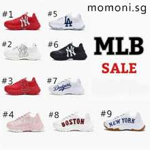 MLB Genuine Sports Shoes Big Ball Chunky Shoes Men'S And Women'S Casual Shoes