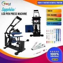 Sapphire Pen Press Machine Lcd Type For Laser Printing ( 10 Pen Slots )