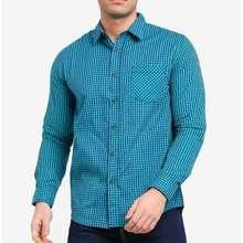 FIDELIO Signature Casual Long Sleeves Shirt | Kemeja Lelaki Berkolar Lengan Panjang