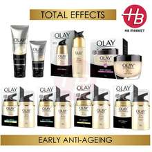 Olay [Limited Promo] Total Effects 7 In 1 Day Cream Spf15 / Foaming Cleanser / Whip / Night Cream / Daily Serum
