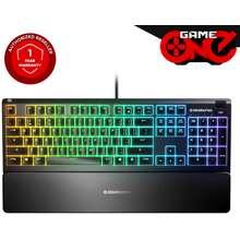 SteelSeries Steelseries Apex 3 Rgb Gaming Keyboard