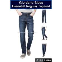 Giordano Blues Essential Regular Tapered Jeans Deep Blue