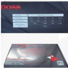Doss POWER SUPPLY D-S 500W D-S 500W ATX SWITCHING MODE POWER SUPPLY PLUS 80