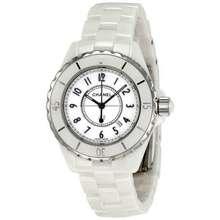 CHANEL J12 Quartz White Dial Ladies Watch H0968