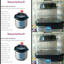 Amway Periuk Rm850 & Steamer Rm400