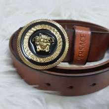 Versace Men Belt Leather