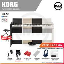KORG [Pre-Order] Digital Piano C1 Air With Bluetooth