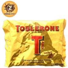 Toblerone Chocolate Swiss Milk Chocolate With Honey & Almond Nougat Minis Bag 200G Coklat