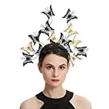 Butterfly Coucoland Butterfly Headband Gold Black