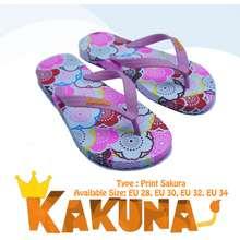 Sakura Sandal Kakuna Anak Perempuan Tipe Print Umur 5 10 Tahun 28