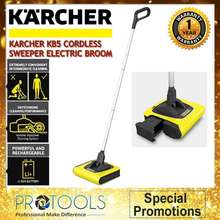 Kärcher R Kb5 Cordless Sweeper Electric Broom- Made In Germany-1 Year Warranty