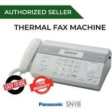 Panasonic Kx-Ft981 Thermal Fax Machine (White)