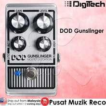 Digitech Dod Gunslinger - Mosfet Distortion Guitar Effect Pedal