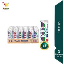 F&N 100Plus (24 X 325Ml) X 3 Carton (Kl& Selangor Delivery Only)