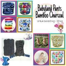 Babyland Grosir Clodi Celana Dengan 2 Insert Bamboo Model Pull Up Pants Untuk Berat 8 - 25 Kg