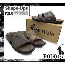 SWISS POLO Men'S Sandals Master Polo Stylish And Trendy, Sandal Lelaki Comfort Tapak Lembut / Kasut Raya