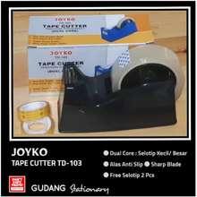 JOYKO Tape Cutter Td-103 + Selotip