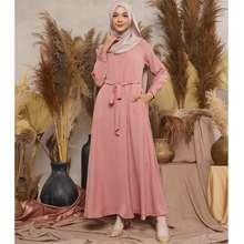 Nobby Free Khimar Dhamira Dress Casual Perempuan Syari Set