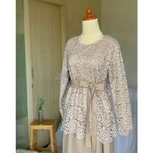Maidifa Sisli Gamis Brukat Dress Bridesmaid Paket Bridesmaid Gamis Kondangan