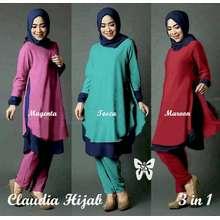 3in1 hijab laudia   grosir baju muslim   baju gamis   baju murah aca86180e0