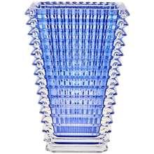 Baccarat Small Rectangular Eye Vase Blue Hong Kong