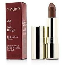 Clarins Joli Rouge Long Wearing Moisturizing Lipstick 758 Sandy Pink Hong Kong