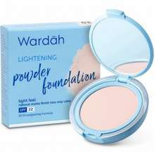 Wardah Lightening Powder Foundation Sheer Pink Indonesia