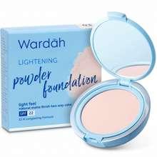 Wardah Lightening Powder Foundation Beige Indonesia