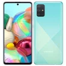 Samsung Galaxy A71 Prism Crush Blue Indonesia