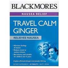 Blackmores Travel Calm Ginger Malaysia