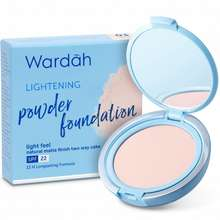 Wardah Lightening Powder Foundation Golden Beige Indonesia