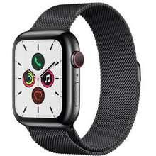 Apple Apple Watch Series 5 44mm สแตนเลสสตีล สีดำสเปซแบล็ค