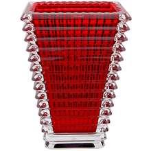 Baccarat Small Rectangular Eye Vase Red Hong Kong