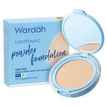 Wardah Lightening Powder Foundation Honey Beige Indonesia
