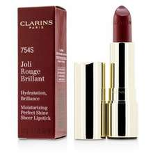 Clarins Moisturizing Perfect Shine Sheer Lipstick Joli Rouge Brillant 754 S Deep Red Hong Kong