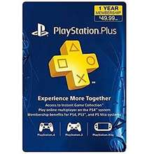 Sony Sony PlayStation Plus Card
