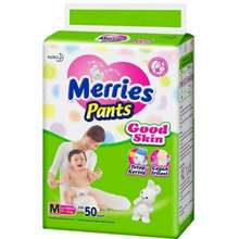 Merries Pants Good Skin Popok Size M M 50 Indonesia